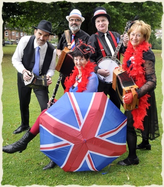 Mrs Porter's Ensemble Plus! Chas Marshall, Roy Hardacre, Nigel Swan, Heather Hazell, Jan Porter
