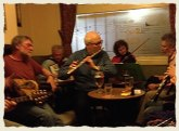 French traditional music session at The Grove Inn, Leeds