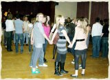 Young dancers enjoy The Polka Dots at a birthday ceilidh